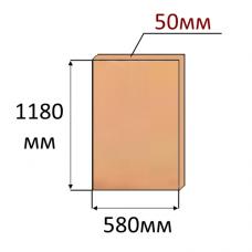 Экструдированный пенополистирол XPS 1180x580x50мм