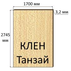ДВП 3,2 мм, 2745х1700 мм, Клен Танзай