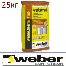 Клеевая смесь Weber.therm S100 (универсал.)